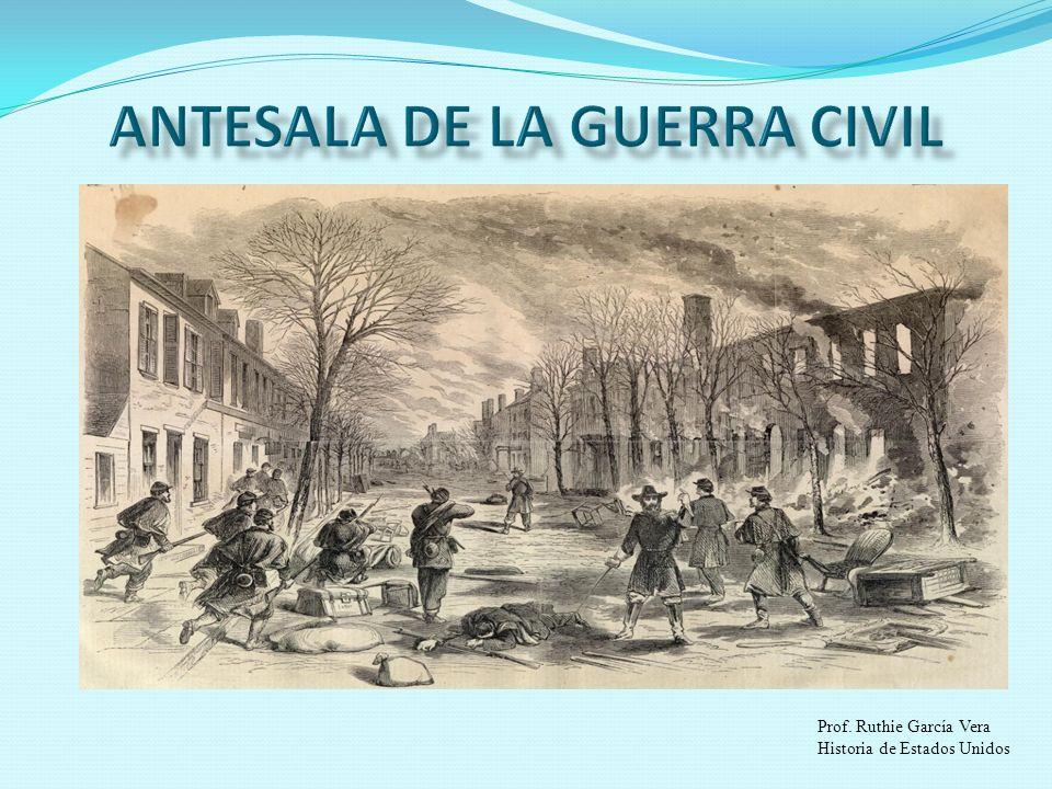 Prof. Ruthie García Vera Historia de Estados Unidos