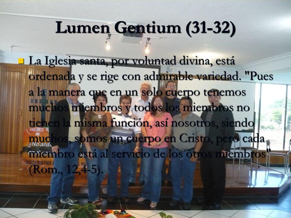 COMO HACER PASTORAL en comunión con la Iglesia en comunión con la Iglesia asumiendo las líneas pastorales de la Iglesia universal, de América Latina y de cada país.