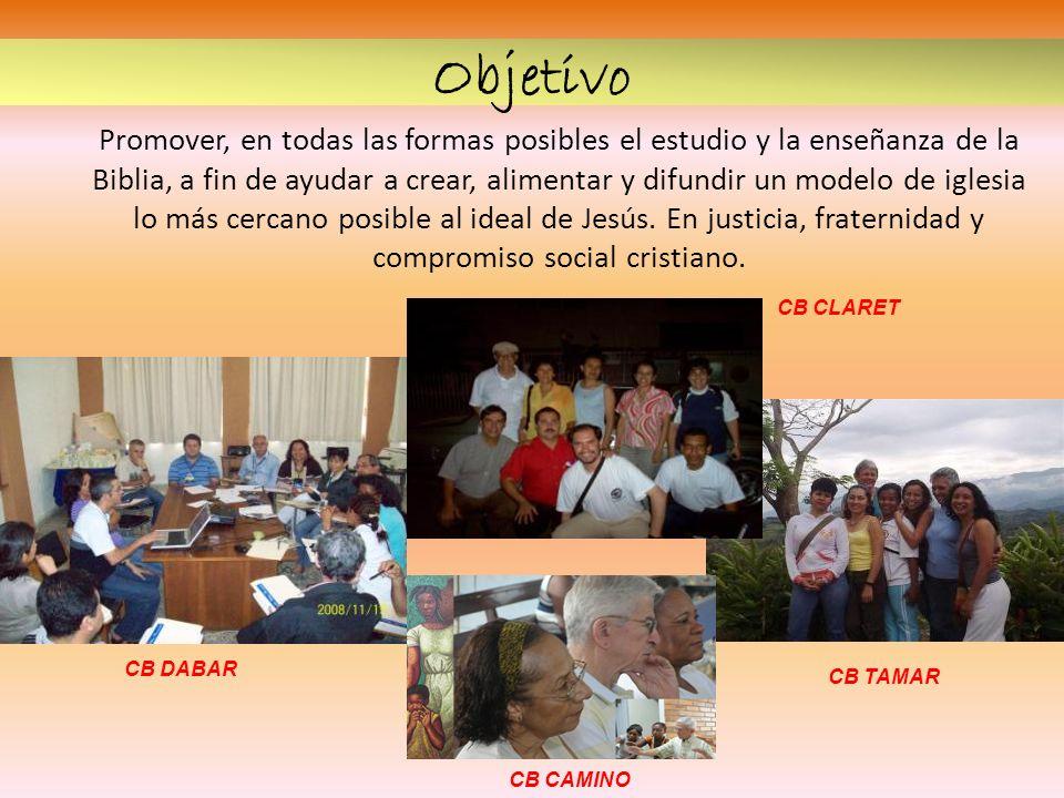 Promover, en todas las formas posibles el estudio y la enseñanza de la Biblia, a fin de ayudar a crear, alimentar y difundir un modelo de iglesia lo m