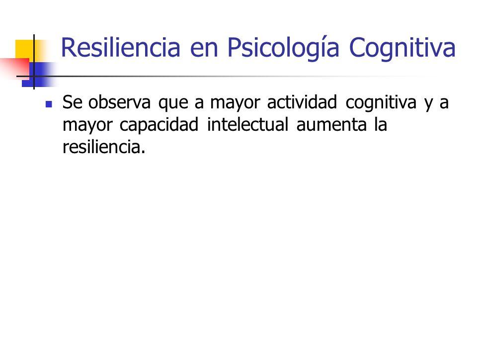 Psicología Cognitiva Se basa en el estudio de la cognición, en otras palabras, de los procesos mentales implicados en el comportamiento. Sus objetos d