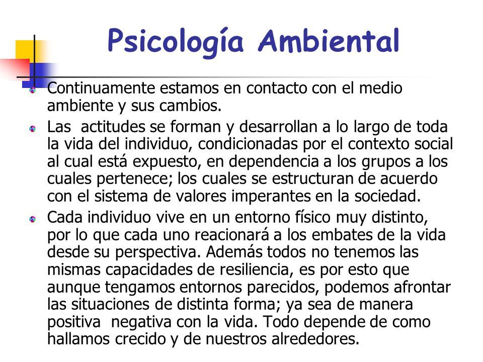 Ramas de la Psicología En algunas ramas de la psicología se observan las repercuciones de la resiliencia, dentro de las cuales están: 1. Psicología de