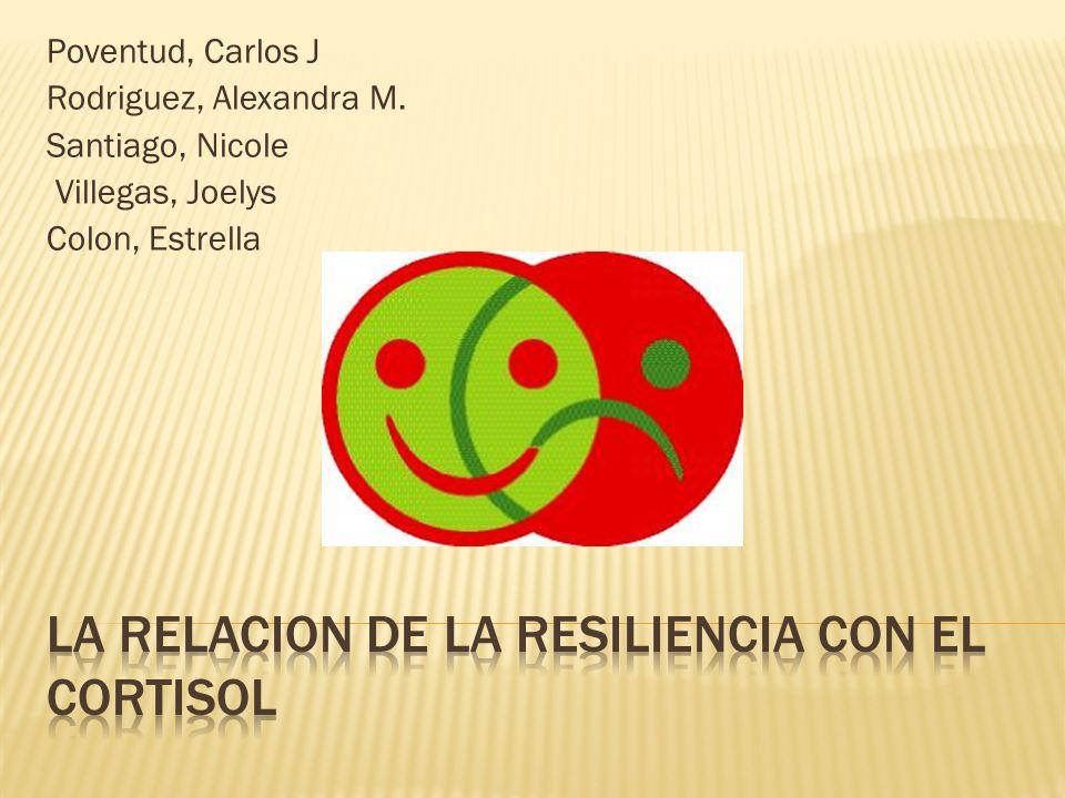 La resiliencia es nuestra habilidad de trabajar con situacines dificiles, lo que nos hace resistir el estress.