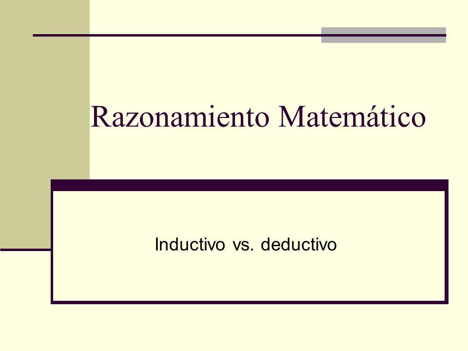 Conjetura Una conjetura es una suposición fundamentada en observaciones repetidas de un patrón o proceso particular.