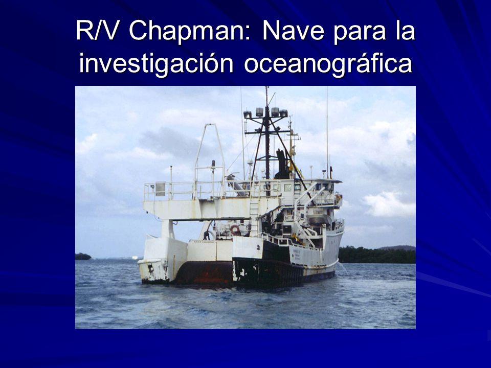 R/V Chapman: Nave para la investigación oceanográfica