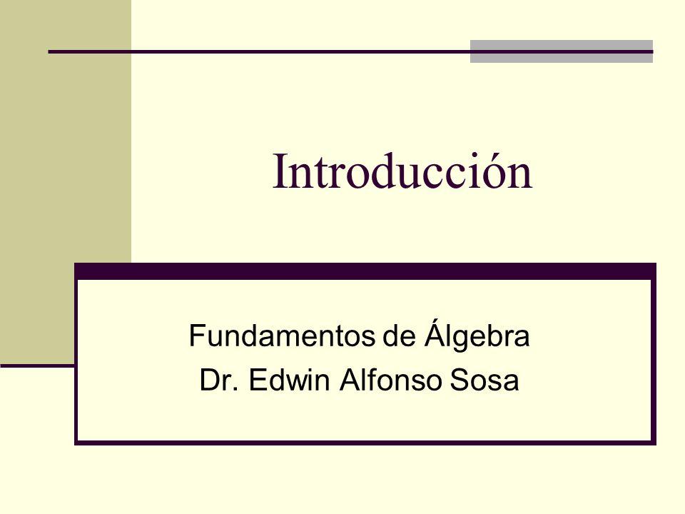 Descripción del Curso Aplicación de álgebra en la solución de problemas, incluyendo representaciones graficas y simbólicas.