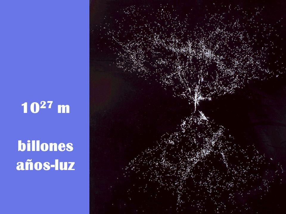 10 27 m billones años-luz