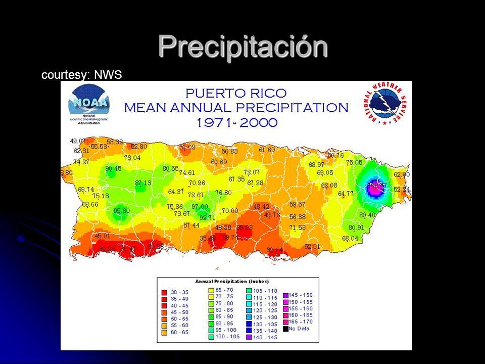 Precipitación courtesy: NWS