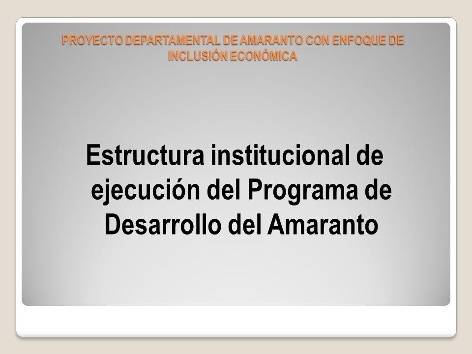 El Directorio 1 Representante de la CIOEC 1 Representante de la PREFECTURA (SEDAG) 1 Representante de Fundaciones y ONGs 1 Representante de la MMCHN 1 Representante de la MMCHC 1 Representante de las Empresas relacionadas al amaranto 1 Representante de la USFXCH.