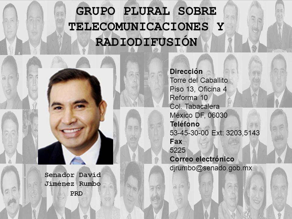 Dirección Torre del Caballito Piso 13, Oficina 4 Reforma 10 Col. Tabacalera México DF, 06030 Teléfono 53-45-30-00 Ext: 3203,5143 Fax 5225 Correo elect