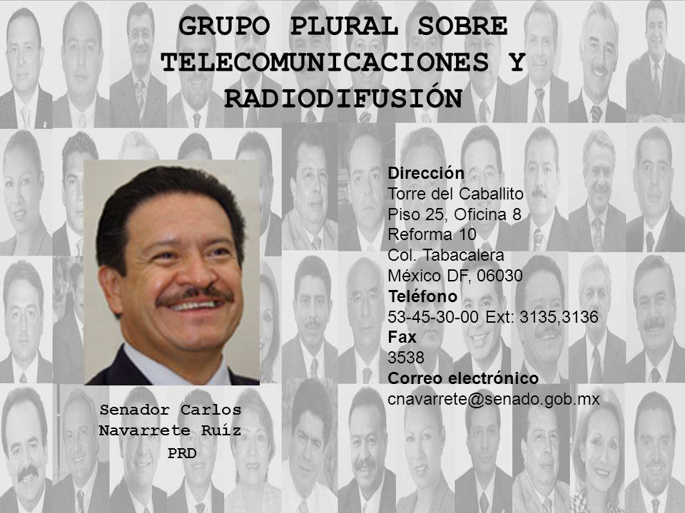 Dirección Torre del Caballito Piso 25, Oficina 8 Reforma 10 Col. Tabacalera México DF, 06030 Teléfono 53-45-30-00 Ext: 3135,3136 Fax 3538 Correo elect