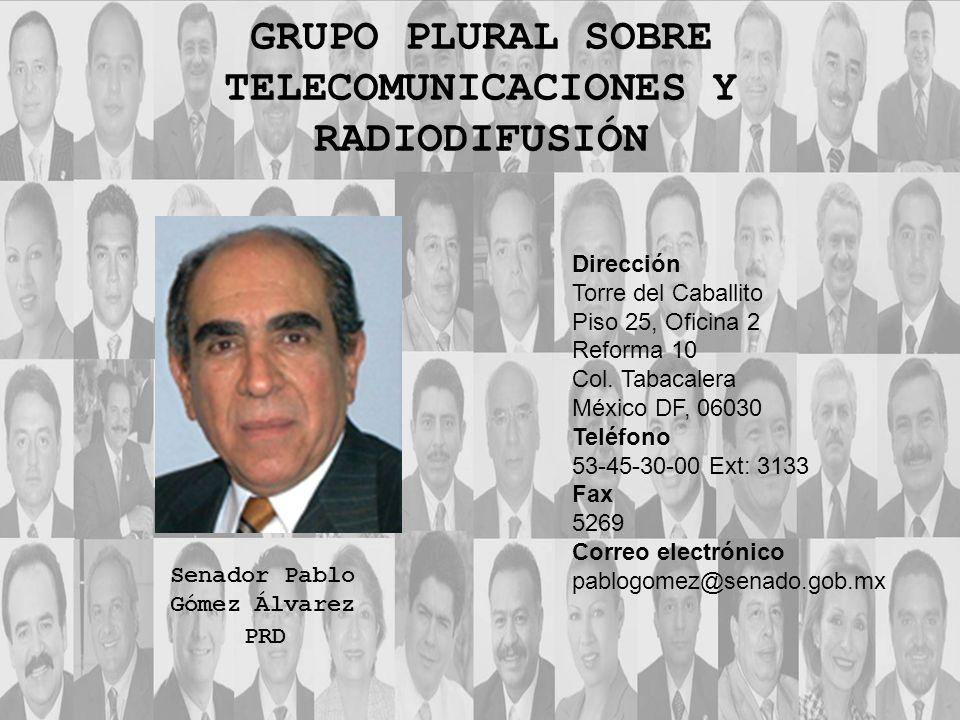 Dirección Torre del Caballito Piso 25, Oficina 2 Reforma 10 Col. Tabacalera México DF, 06030 Teléfono 53-45-30-00 Ext: 3133 Fax 5269 Correo electrónic