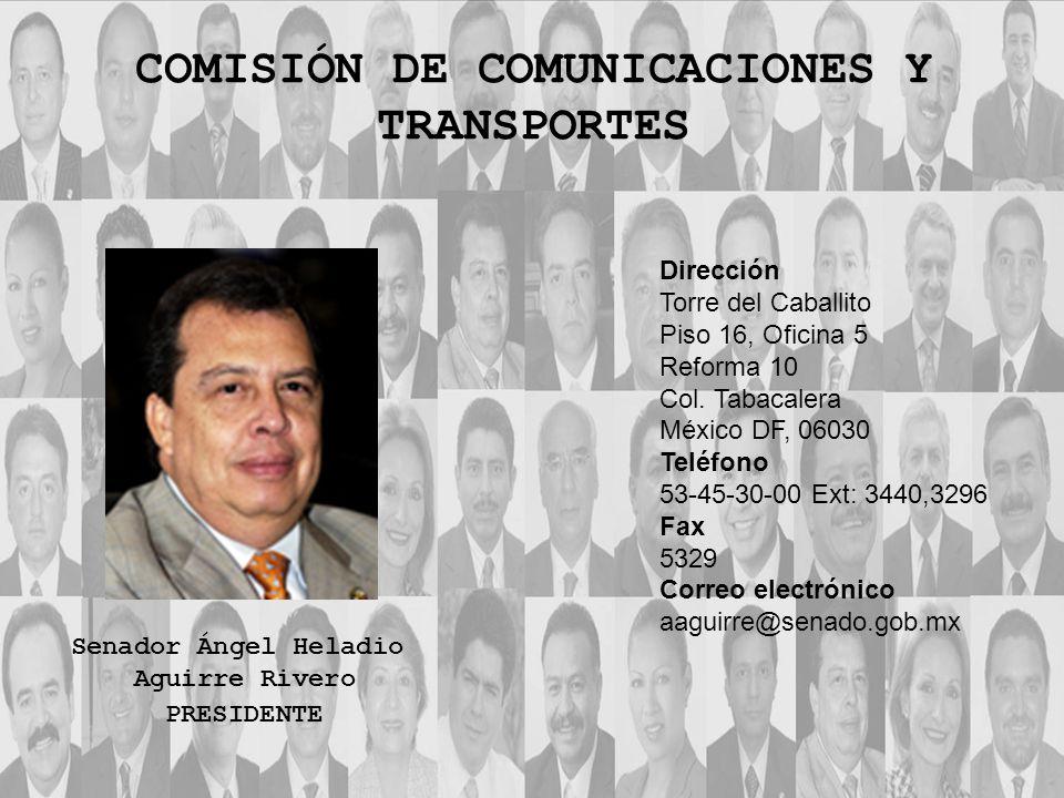 Dirección Torre del Caballito Piso 16, Oficina 5 Reforma 10 Col. Tabacalera México DF, 06030 Teléfono 53-45-30-00 Ext: 3440,3296 Fax 5329 Correo elect