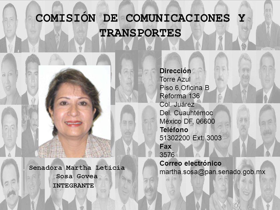 Dirección Torre Azul Piso 8, Oficina C Reforma 136 Col.