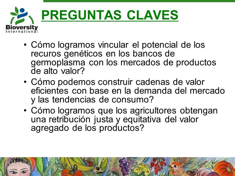 Estandares actuales de certificación ecológica inadecuados Ventas anuales productos orgánicos: USD 40 Billones Pero: No trata asuntos fundamentales como: - Rendimentos sostenibles - Complejidad de estructuras sociales - Diversidad de especies de la plantas