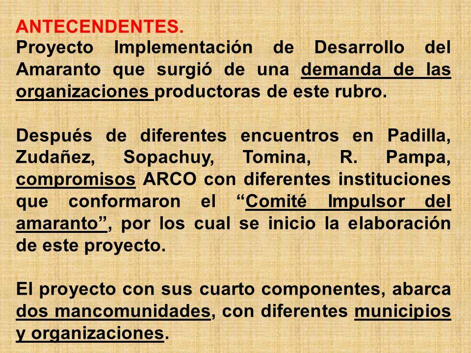 UBICACIÓN GEOGRÁFICA Mancomunidad Chuquisaca Norte.