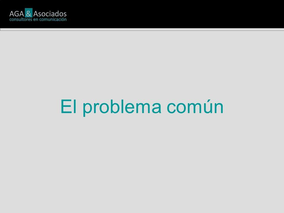 El problema común