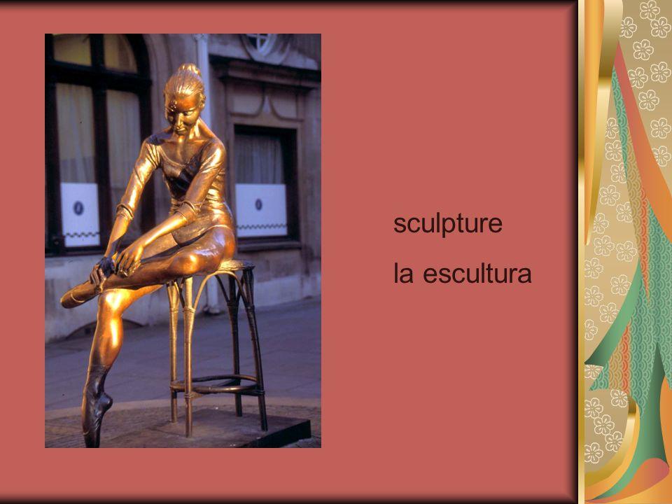 sculpture la escultura