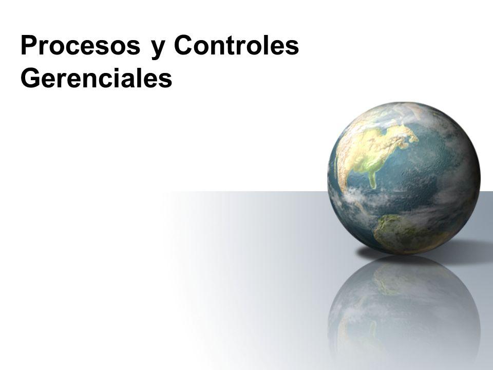 Procesos y Controles Gerenciales
