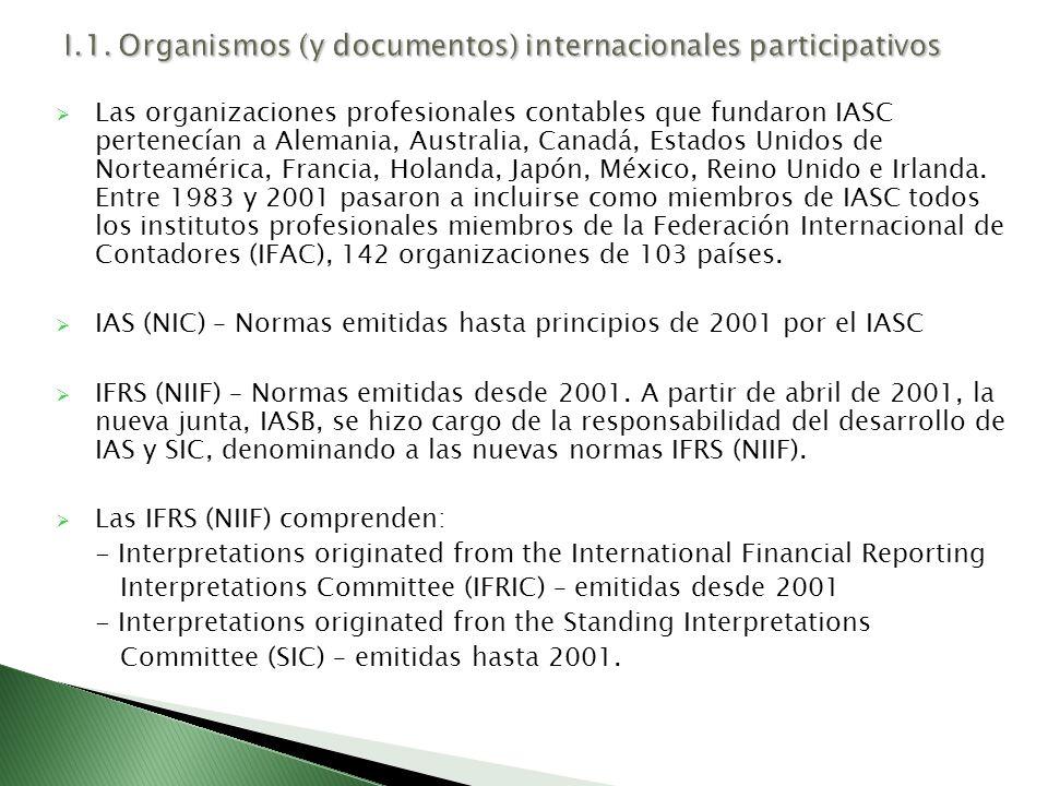 Convergencia y armonización entre IASB y FASB FASB es, desde 1973, la organización del sector privado encargada de establecer y mejorar las normas de información financiera en los Estados Unidos.