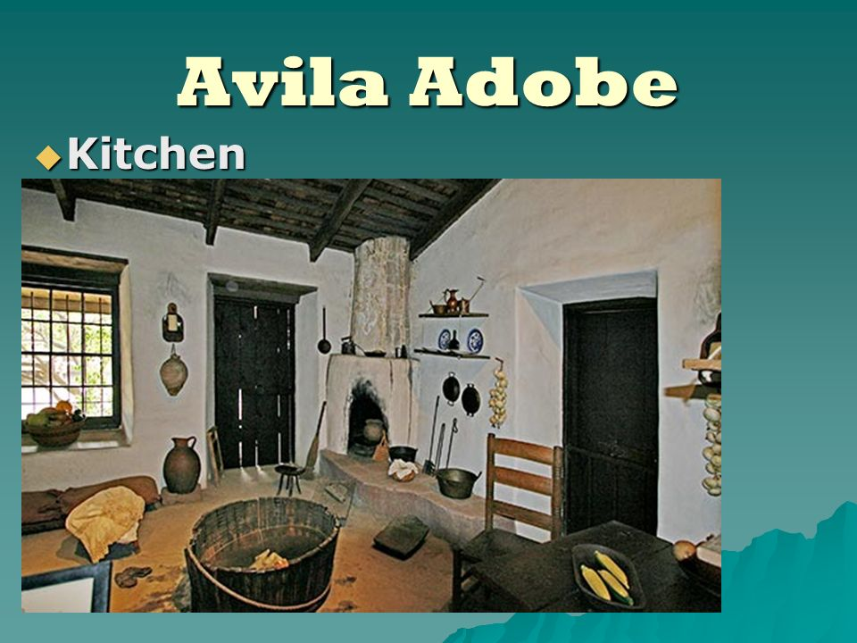 Avila Adobe Kitchen Kitchen