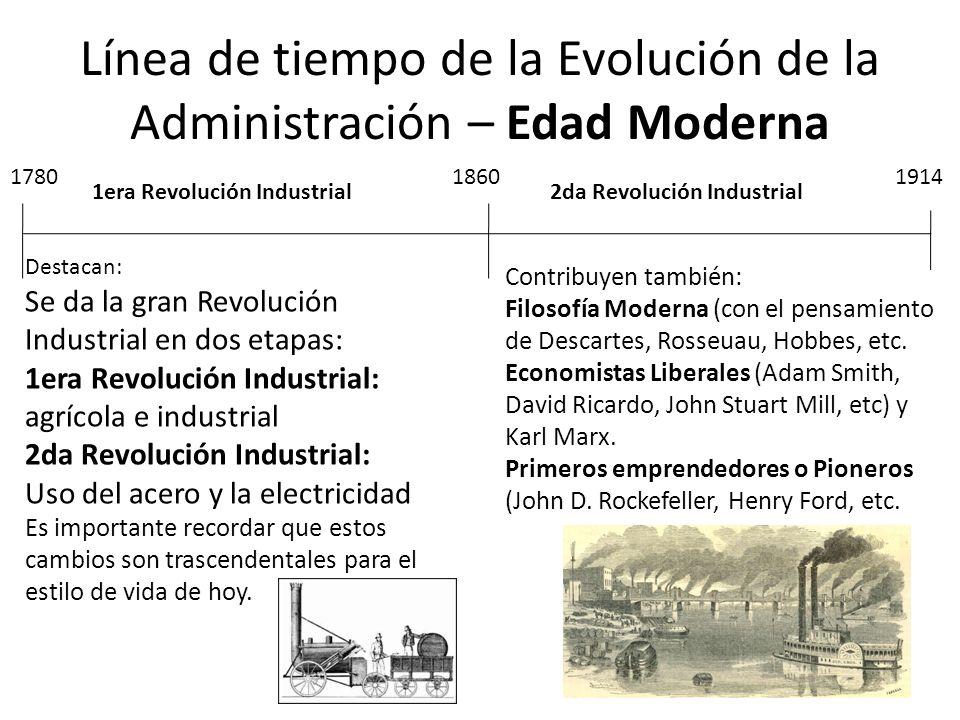 Destacan: Se da la gran Revolución Industrial en dos etapas: 1era Revolución Industrial: agrícola e industrial 2da Revolución Industrial: Uso del acer