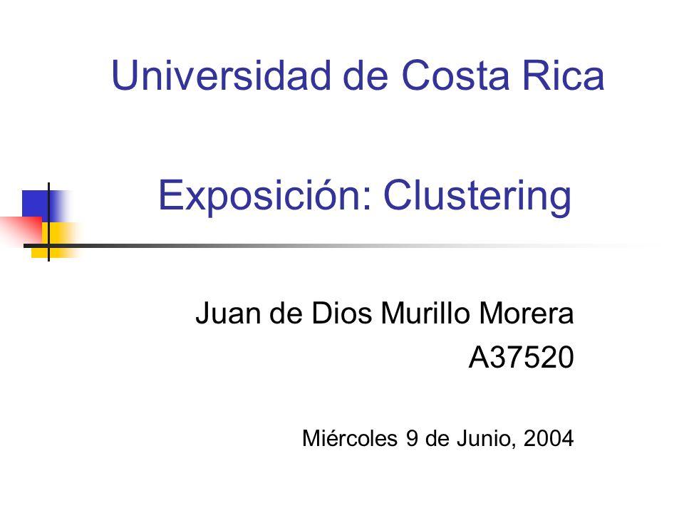 Conclusiones El clustering es un método de recuparar la información a través del agrupamiento de documentos en base a temas específicos.
