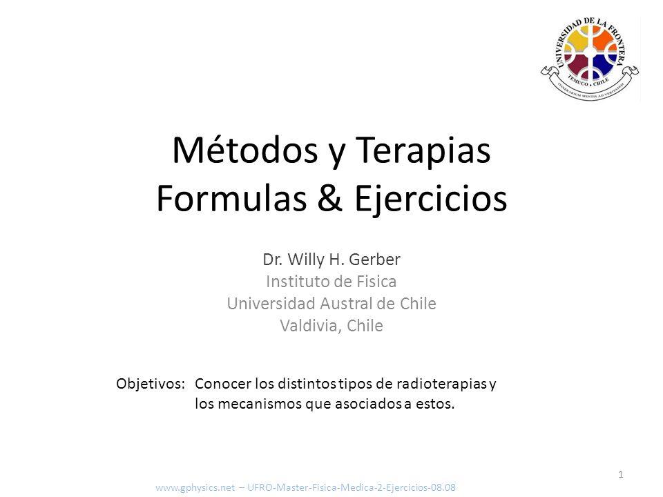 Índice 2 Introducción www.gphysics.net – UFRO-Master-Fisica-Medica-2-Ejercicios-08.08