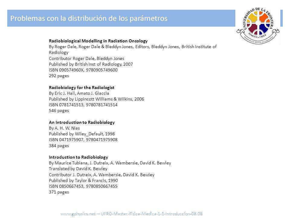Radiobiological Modelling in Radiation Oncology By Roger Dale, Roger Dale & Bleddyn Jones, Editors, Bleddyn Jones, British Institute of Radiology Cont