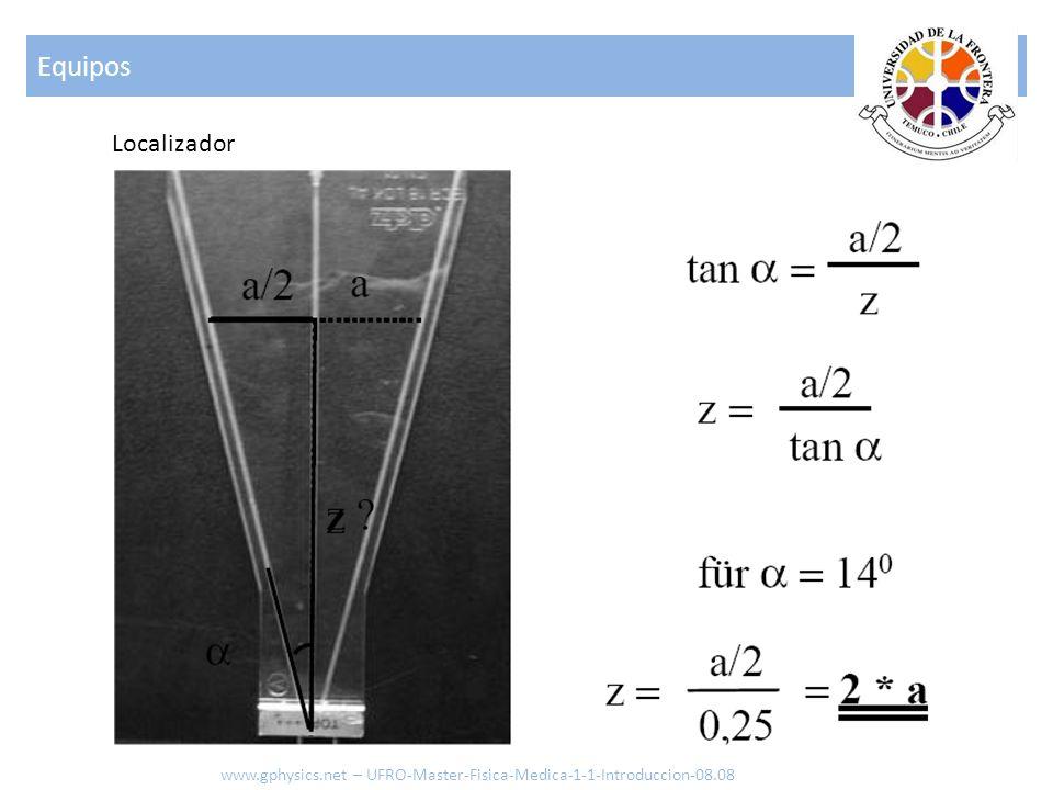 Localizador Equipos www.gphysics.net – UFRO-Master-Fisica-Medica-1-1-Introduccion-08.08