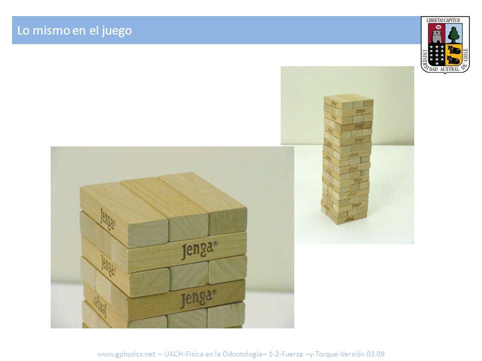 Lo mismo en el juego www.gphysics.net – UACH-Fisica en la Odontologia– 1-2-Fuerza –y-Torque-Versión 03.09