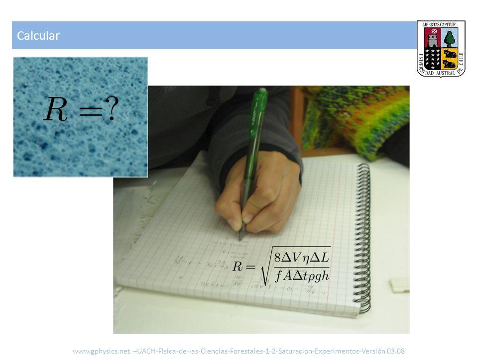 Calcular www.gphysics.net –UACH-Fisica-de-las-Ciencias-Forestales-1-2-Saturacion-Experimentos-Versión 03.08