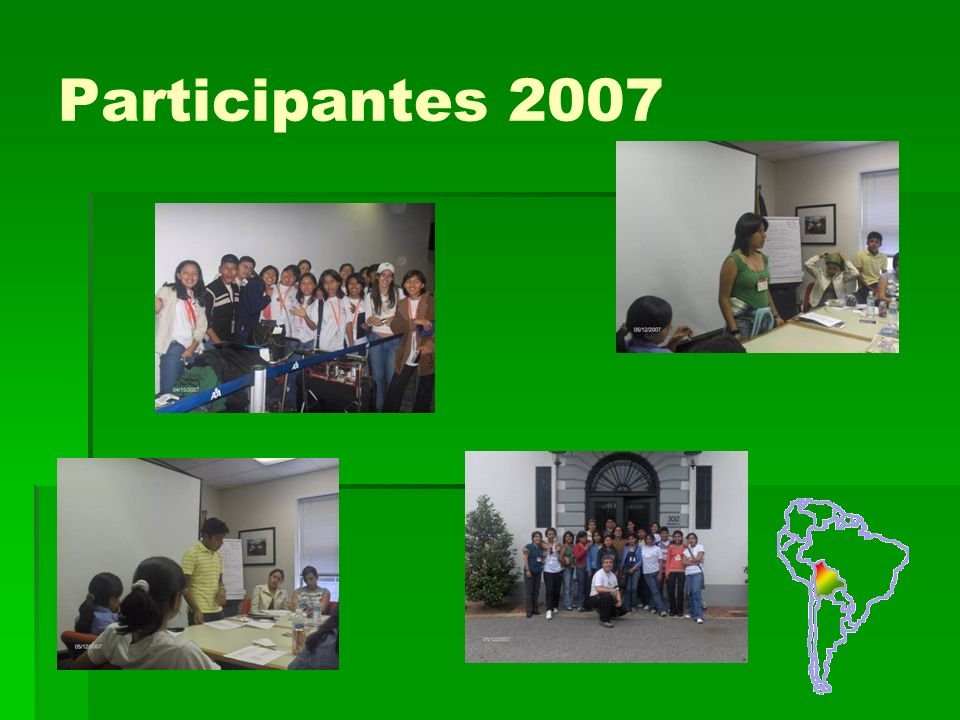 Participantes 2007