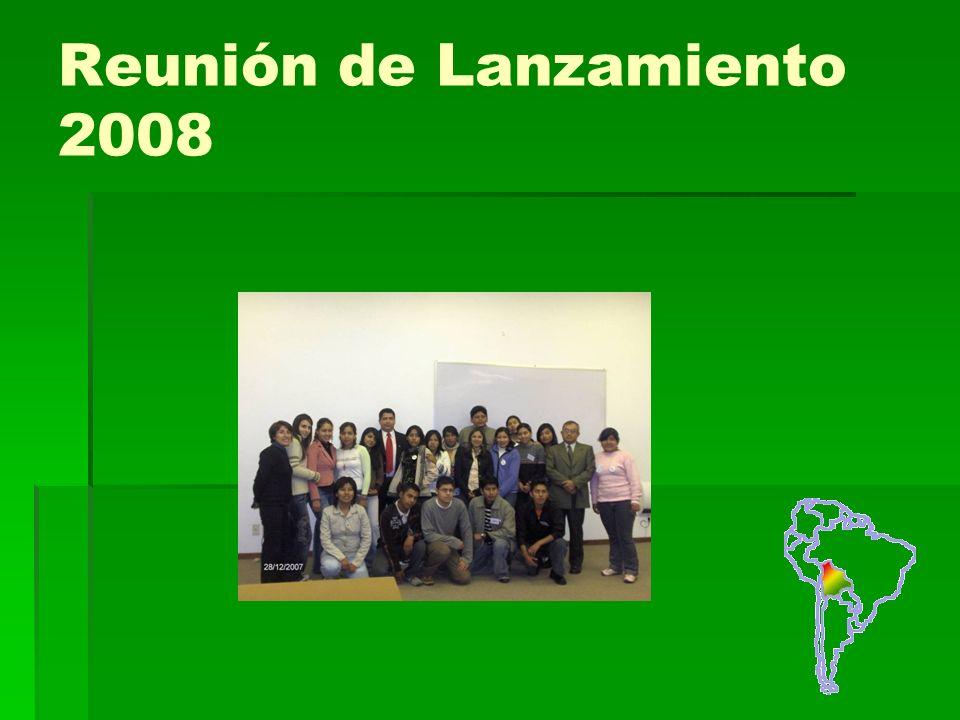 Reunión de Lanzamiento 2008