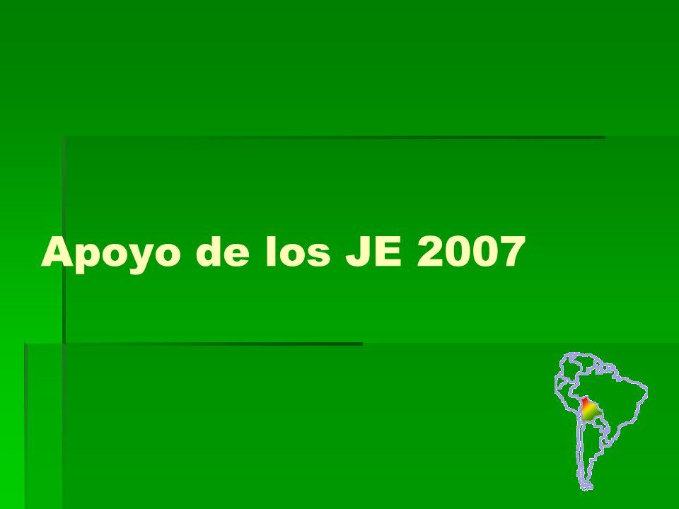 Apoyo de los JE 2007