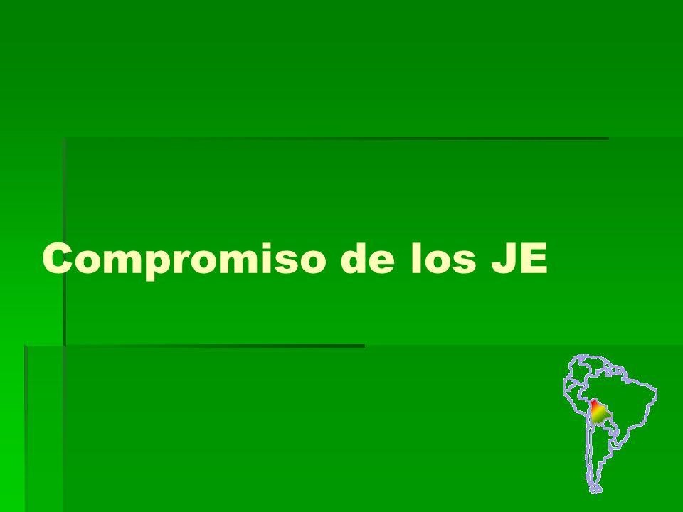 Compromiso de los JE
