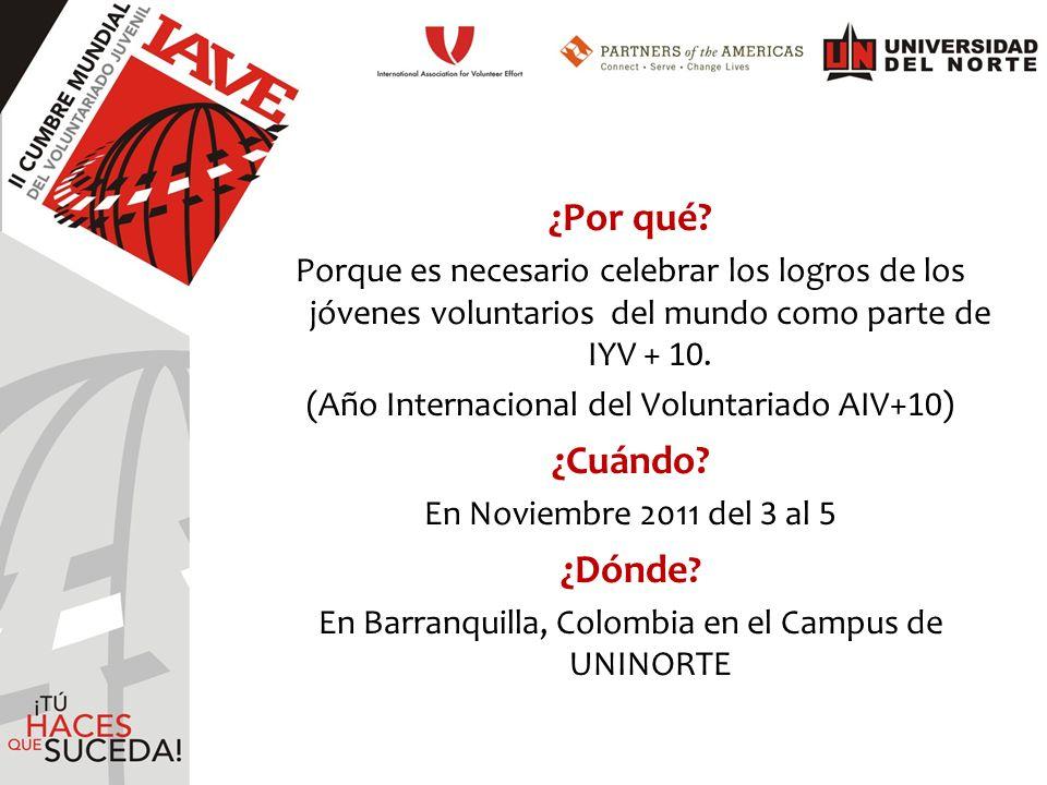 ¡Un Evento Liderado Por Jóvenes…Para Jóvenes.