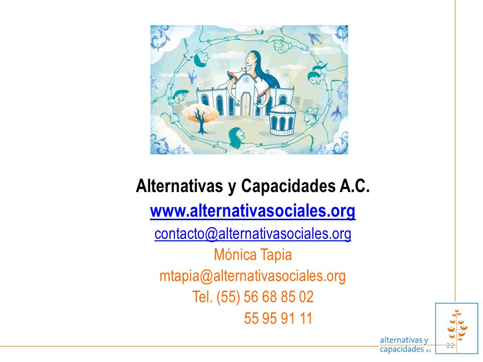 Alternativas y Capacidades A.C.