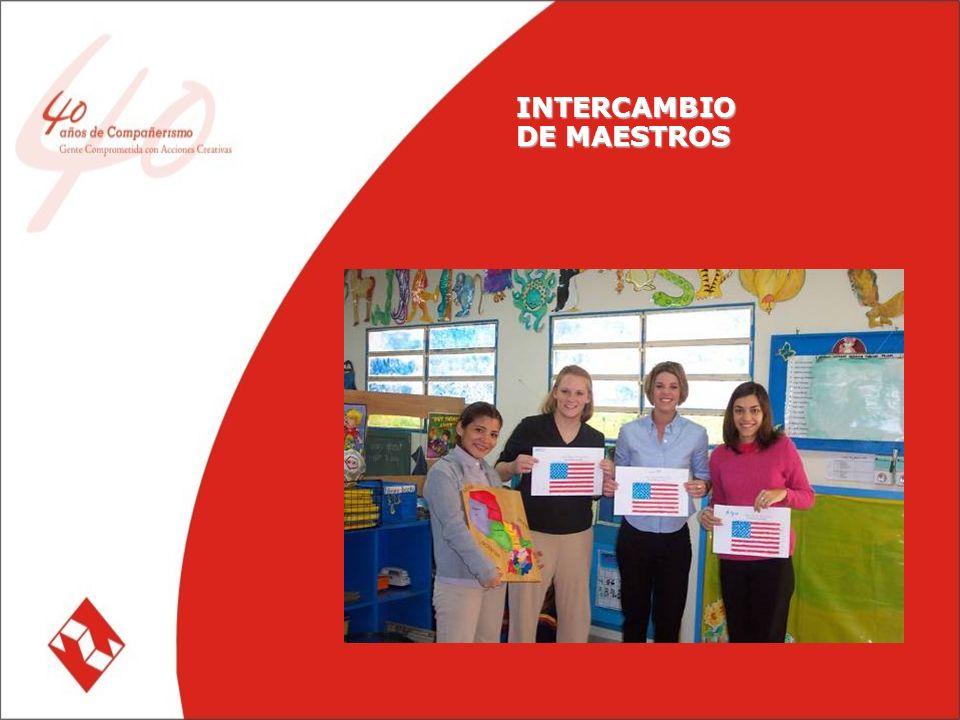 INTERCAMBIO DE MAESTROS