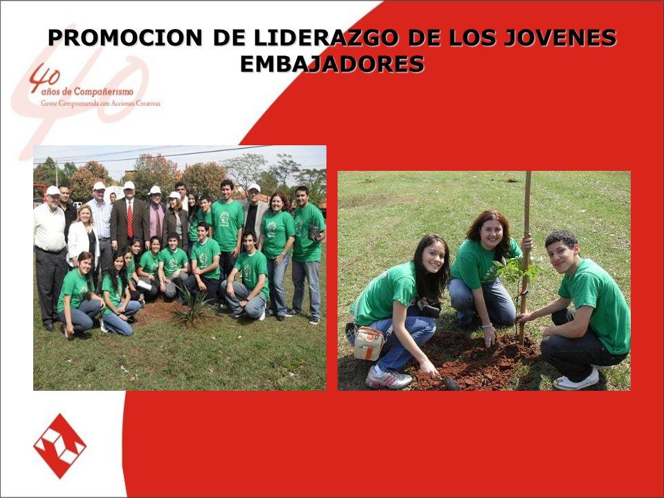 PROMOCION DE LIDERAZGO DE LOS JOVENES EMBAJADORES