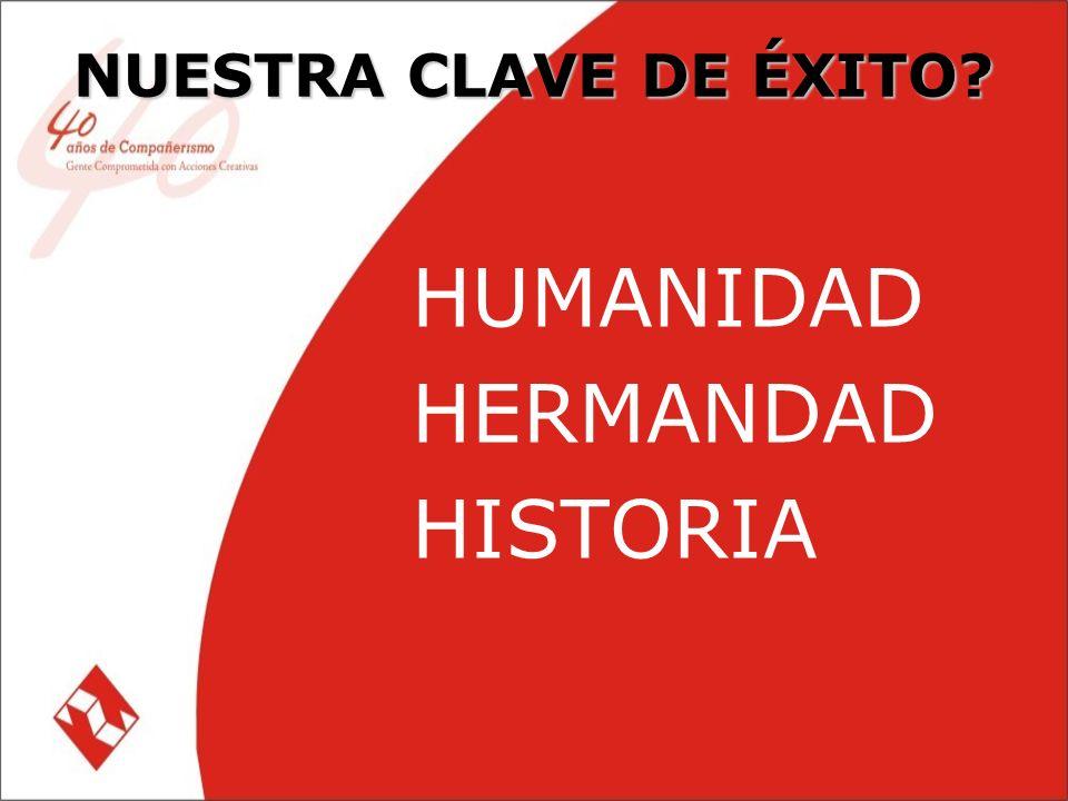 NUESTRA CLAVE DE ÉXITO HUMANIDAD HERMANDAD HISTORIA