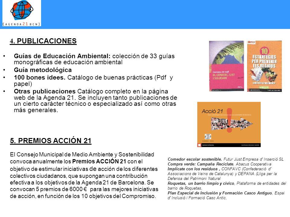 Guías de Educación Ambiental: colección de 33 guías monográficas de educación ambiental Guía metodológica 100 bones idees. Catálogo de buenas práctica