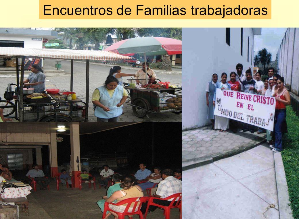 Encuentros de Familias trabajadoras