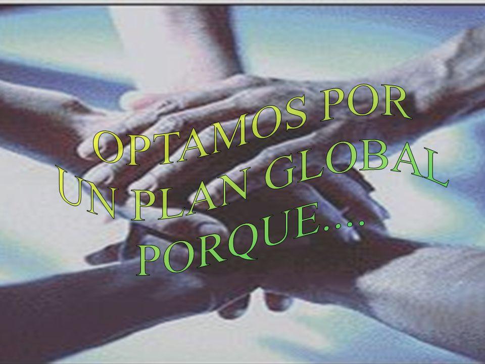 PASAR DE UNA VISION PARCIAL PASAR DE UNA VISION PARCIAL A UNA GLOBAL O DE CONJUNTO UNA GLOBAL O DE CONJUNTO Mi bienestar, mi seguridad, mi comodidad, mi interés,, mi voluntad, mi libertad...