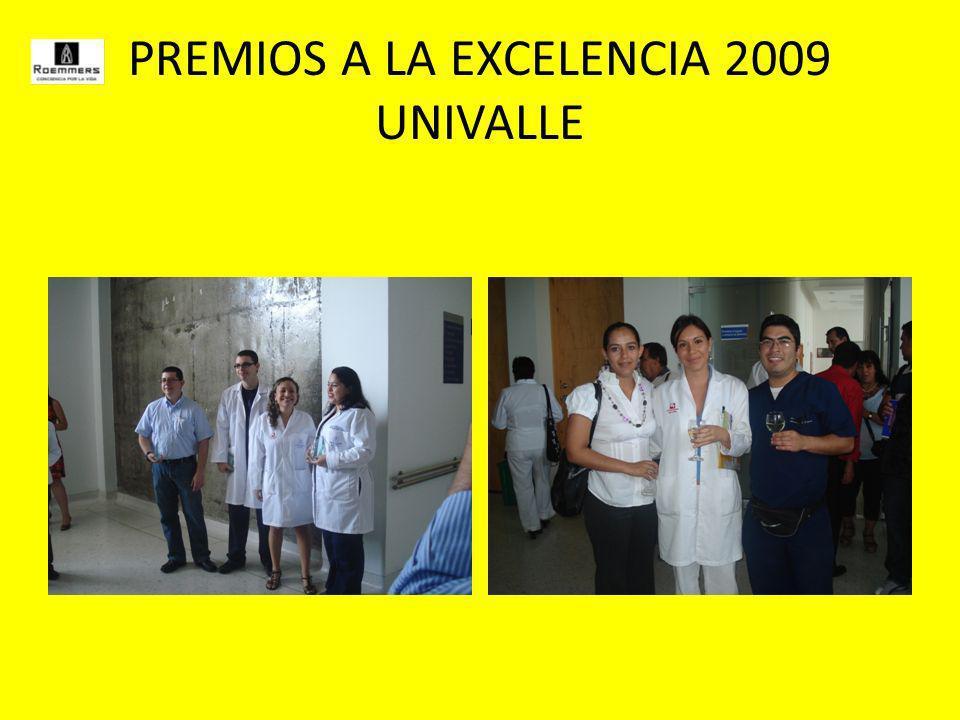 PREMIOS A LA EXCELENCIA 2009 UNIVALLE