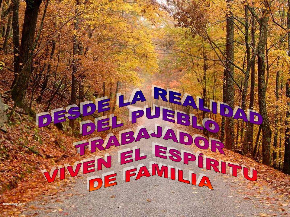 Pueblo trabajador organizado en pequeñas Comunidades, como expresión de fe, en comunión y participación, con conciencia crítica y aptitud profética;