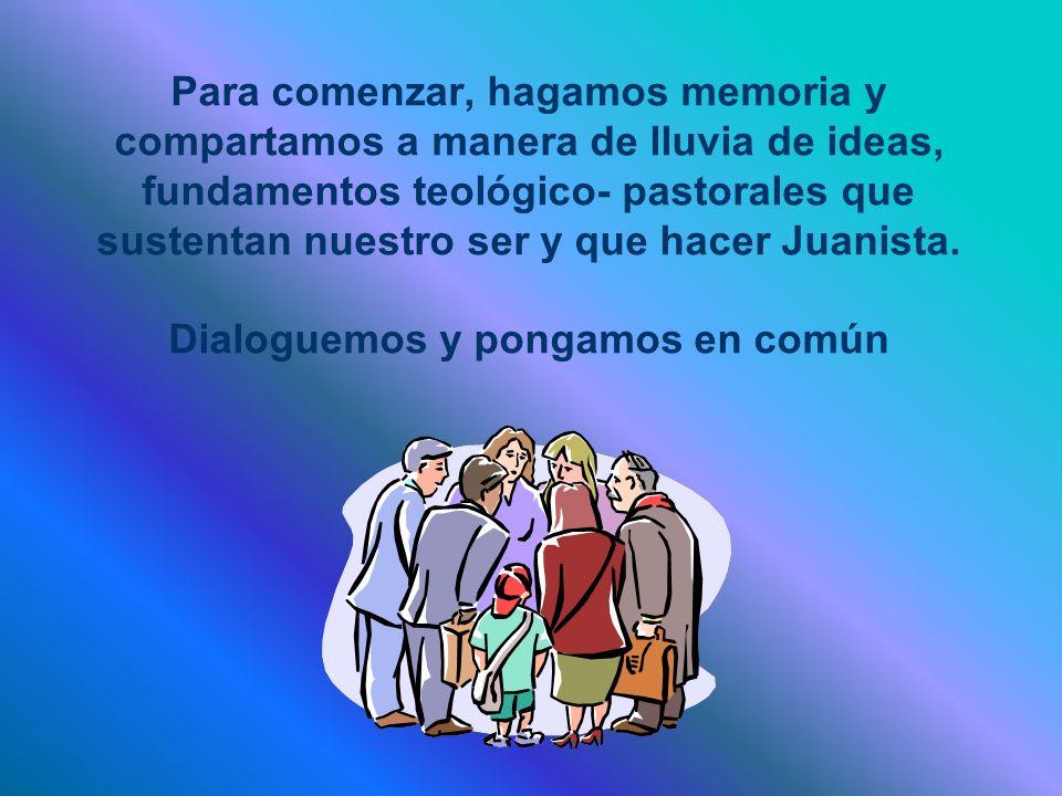 PLANEACIÓN PASTORAL CON VISIÓN PROSPECTIVA La IV Conferencia Episcopal Latinoamericana, reunida en Santo Domingo en 1992, constató una vez más que a pesar del camino recorrido en los últimos años en materia de organización pastoral, muchas de nuestras Diócesis aún no poseen una clara y verdadera planificación pastoral (Nº 56).