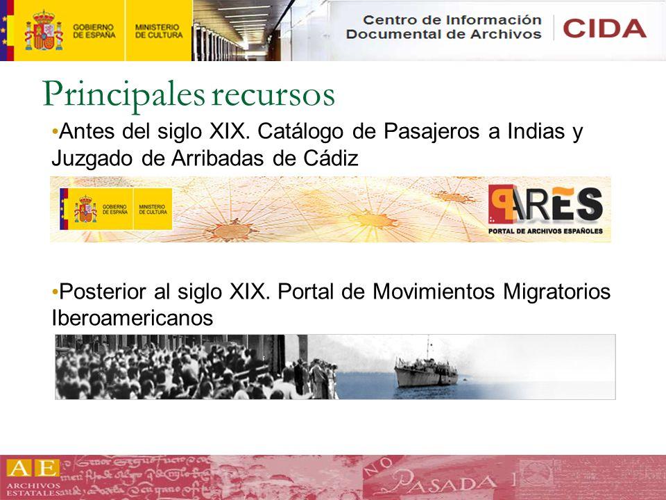 Series que se incluirán Archivo Nacional de la República de Cuba – Registro de entrada de pasajeros por el puerto de La Habana