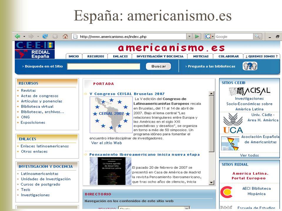 España: americanismo.es