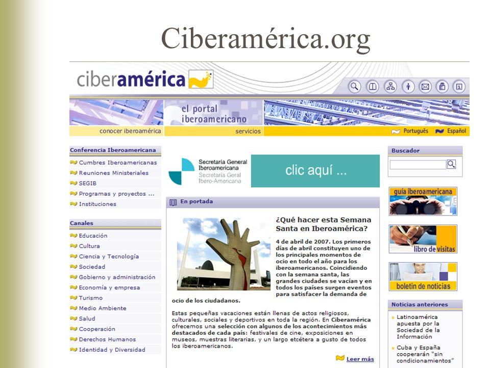 Ciberamérica.org