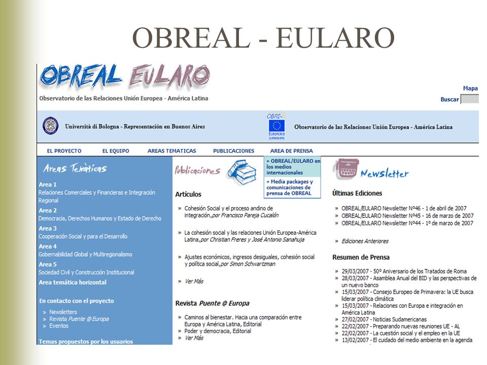 OBREAL - EULARO